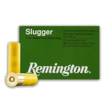 "Cheap 20 ga Ammo For Sale - 2-3/4"" 5/8 oz. Rifled Slug Ammunition by Remington - 5 Rounds"