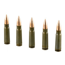 Cheap 7.62x39 Ammo For Sale - 196 Grain FMJ Ammunition in Stock by Brown Bear Subsonic - 20 Rounds