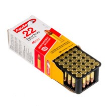 Cheap 22 LR Ammo For Sale - 40 gr CPRN - Aguila SuperExtra Ammunition Online - 50 Rounds