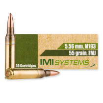 Bulk 5.56x45 Ammo For Sale - 55 grain FMJ M193 Ammunition in Stock by IMI - 300 Rounds