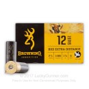 "Premium 12 Gauge Ammo For Sale - 2-3/4"" 1-3/8 oz. #6 Shot Ammunition in Stock by Browning BDX - 25 Rounds"