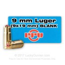 Cheap 9mm Ammo For Sale - Blanks in Stock by Prvi Partizan - 50 Rounds