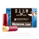"""Bulk 12 Gauge Ammo For Sale - 3"""" 1 1/4 oz. #BB Steel Shot Ammunition in Stock by Federal Speed-Shok - 250 Rounds"""
