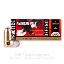 Premium 45 ACP Ammo For Sale - 230 gr Hydra Shok JHP & American Eagle FMJ Combo Pack - Federal Premium Ammunition In Stock - 120 Rounds