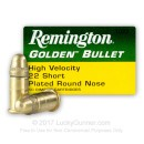 Cheap 22 Short Ammo For Sale - 29 gr LRN - Remington High Velocity Ammunition In Stock - 50 Rounds