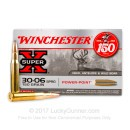 Bulk American Made 30-06 Ammo For Sale - 150 gr PP - Winchester Super-X Ammo Online - 200 Rounds