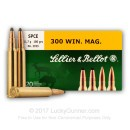 300 Winchester Magnum Ammo For Sale - 180 gr Soft Point Cutting Edge - Sellier & Bellot Ammo Online