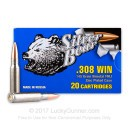 Bulk 308 145 grain full metal jacket Silver Bear Ammunition For Sale - 500 Rounds