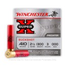 "410 ga Ammo For Sale - 2-1/2"" 000 Buckshot Ammunition by Winchester Super-X"
