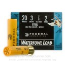 "Cheap 20 Gauge Ammo For Sale - 3"" #2 Shot Ammunition in Stock by Federal Speed-Shok - 25 Rounds"