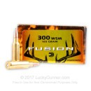 Premium 300 WSM Ammo For Sale - 165 Grain SP Ammunition in Stock by Federal Fusion - 20 Rounds