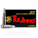 Bulk Steel Cased 308 Win Ammo For Sale - 165 grain SP Tula Ammunition in Stock - 500 Rounds