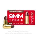 Premium 9mm Ammo For Sale - +P 65 Grain ARX Ammunition in Stock by PolyCase Inceptor Preferred Defense - 25 Rounds