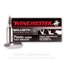 Premium 7mm WSM Ammo For Sale - 140 Grain Ballistic Silvertip Ammunition in Stock by Winchester - 20 Rounds