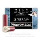 """Cheap12 Gauge Ammo For Sale - 3"""" 1-1/4 oz. #2 Steel Shot Ammunition in Stock by Federal Speed-Shok - 25 Rounds"""