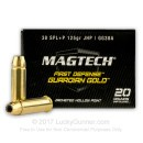 38 Special +P Ammo For Sale - 125 gr Magtech Guardian Gold Ammo Online