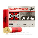 """28 Gauge Ammo - Winchester HB Game 2-3/4"""" #5 Shot - 25 Rounds"""