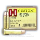 Bulk 38 Special Defense Ammo For Sale - 158 gr JHP XTP Hornady Ammunition In Stock - 250 Rounds
