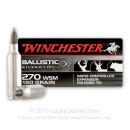 Premium 270 WSM Ammo For Sale - 150 Grain Supreme Ballistic Silvertip Ammunition in Stock by Winchester - 20 Rounds