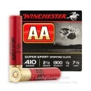 "Cheap 410 ga #7-1/2 Shot For Sale - 2-1/2"" #7-1/2Shot Ammunition by Winchester  - 25 Rounds"