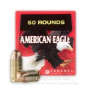 Cheap 45 ACP Ammo For Sale - 230 Grain FMJ Ammunition in Stock by Federal American Eagle - 50 Rounds
