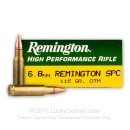 6.8 Special Purpose Cartridge Ammo In Stock  - 115 gr Open Tip Match - Remington 6.8 Remington Special Purpose Cartridge Ammunition For Sale Online