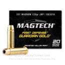 357 Magnum Defense Ammo For Sale - 125 gr Magtech Guardian Gold Ammo Online