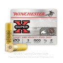 "Premium 20 Gauge Ammo For Sale - 3"" 7/8 oz. #2 Steel Shot Ammunition in Stock by Winchester Xpert High Velocity - 25 Rounds"