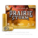 """Cheap20 Gauge Ammo For Sale - 3"""" 1-1/4 oz. #4 Shot Ammunition in Stock by Federal Premium PRAIRE STORM - 25 Rounds"""