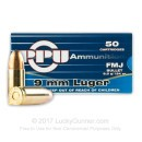 Bulk 9mm Luger Ammo For Sale - 124 gr FMJ Prvi Partizan Ammunition For Sale - 1000 Rounds