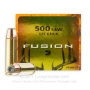 Premium 500 S&W Magnum Hunting Ammo  - 325 gr Federal Fusion Ammo - 20 Rounds