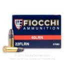 Bulk 22 LR Ammo For Sale - 40 gr LRN - Fiocchi Ammo In Stock - 500 Rounds