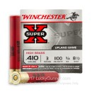"410 Bore Ammo - Winchester Super-X 3"" #8.5 Shot - 25 Rounds"