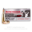 Premium 300 WSM Ammo For Sale - 150 Grain Polymer Tipped Ammunition in Stock by Winchester Deer Season XP - 20 Rounds