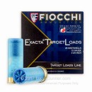 "Bulk 12 ga Target Shells For Sale - 2-3/4"" 1 1/8 oz #8 White Rhino Target Shell Ammunition by Fiocchi - 250 Rounds"