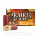 """Premium12 Gauge Ammo For Sale - 2-3/4"""" 1-1/4 oz. #5 Ammunition in Stock by Federal Premium PRAIRE STORM - 25 Rounds"""