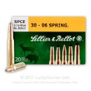 Cheap 30-06 Ammo For Sale - 180 gr SPCE - Sellier & Bellot Ammo Online - 20 Rounds