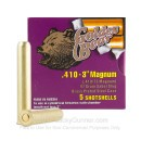 "Cheap 410 Gauge Ammo For Sale - 3"" 97 Grain Sabot Slug Ammunition in Stock by Golden Bear - 270 Rounds"