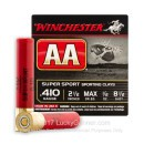 "Cheap 410ga Ammo For Sale - 2-1/2"" #8-1/2 Shot Ammunition by Winchester - 25 Rounds"