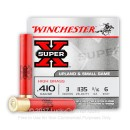 "Cheap 410 Gauge Winchester Super-X 3"" #6 Shot Ammo For Sale At Lucky Gunner"