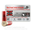 """Cheap 12 Gauge Ammo For Sale Online - Winchester Super-X 3"""" BB Steel Shot - 25 Rounds"""