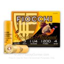 """Cheap 20 ga 3"""" Golden Pheasant Fiocchi Shells For Sale - 3"""" Nickel Plated Lead #4 Loads by Fiocchi - 25 Rounds"""