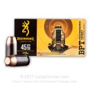Cheap 45 ACP Ammo For Sale - 230 Grain FMJ Ammunition in Stock by Browning BXP - 50 Rounds