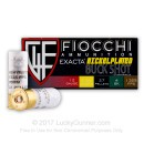 """Bulk 12 Gauge Ammo For Sale - 2 3/4"""" #4 Shot Ammunition in Stock by Fiocchi - 250 Rounds"""