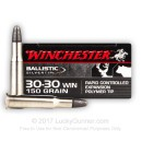 Premium 30-30 Ammo For Sale - 150 Grain Silver Tip PT Ammunition in Stock by Winchester Super-X - 20 Rounds
