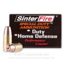 Frangible 9mm SinterFire Hollow Point Ammo - 100gr Frangible HP -  SinterFire Ammunition - 20 Rounds
