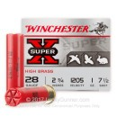 "28 Gauge Ammo - Winchester Super-X 2-3/4"" #7.5 Shot - 25 Rounds"