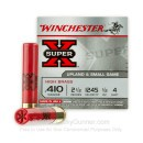 "410 ga Ammo For Sale - 2-1/2"" #4 Shot Ammunition by Winchester Super-X"