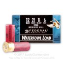 """Cheap12 Gauge Ammo For Sale - 2-3/4"""" 1-1/8 oz. #6 Steel Shot Ammunition in Stock by Federal Speed-Shok - 25 Rounds"""