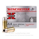44 S&W Special - 200 gr JHP - Winchester Silvertip Super-X Ammunition - 20 Rounds